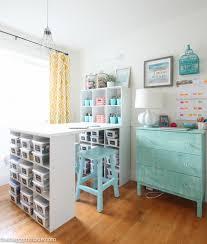 Home Craft Room Ideas - creative how to organize a craft room inspirational home