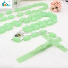 glow in the rosary big cross glow in the luminous plastic wall rosary buy wall