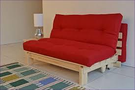 furniture wonderful modern futon double futon sofa bed dark wood