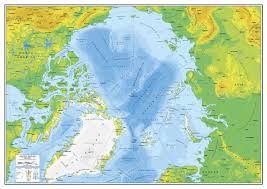 Arctic Ocean Map World Physical Map By Adriandragne Graphicriver