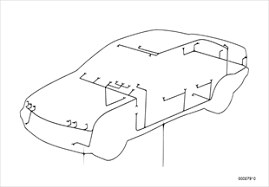 vehicle electrical system bmw 3 u0027 e36 316i m40 europe