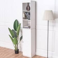Bathroom Tower Cabinet Tall Bathroom Cabinet Ebay