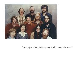 A Computer On Every Desk And In Every Home A Computer On Every Desk And In Every Home Small Computer Desk