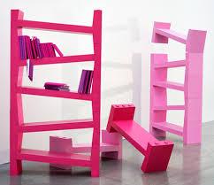 skew bookcase