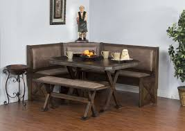 breakfast nook table ideas dining room vintage rectangle dark brown breakfast nook table