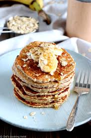 cuisiner flocon d avoine pancakes express banane et flocons d avoine sans gluten sans