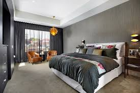 Contemporary Bedroom Colors Gray Art Grey For Paint Transitional - Grey bedroom colors