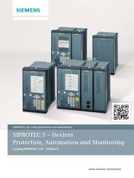 siemens siprotec 5 catalog ed3 0 electrical impedance smart grid
