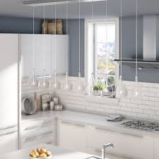 9 kitchen island wade logan neal 9 light kitchen island pendant reviews wayfair ca