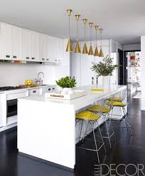 Yellow And White Kitchen Contemporary Kitchen Design Gostarry Com