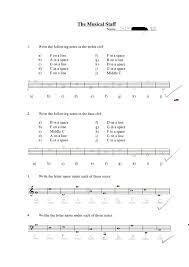 music musical staff and note naming jesse u0027s ifolio