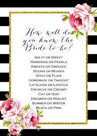 Kitchen Tea Game Ideas by 2 Free Printable Games Archives Bridal Shower Ideas Themes