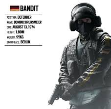 operator spotlight 15 bandit german unit rainbow six siege