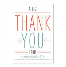 remarkable custom thank you cards business creative personalized