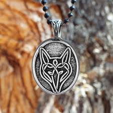 wolf necklace celtic wolf pendant live bold trust