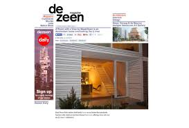 feature on dezeen com meesvisser architecture with a practical