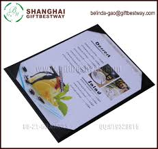 menu covers wholesale hot sale free sle wholesale menu cover for restaurant clear