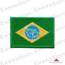 Brazil Flag Image Patch Flag Of Brazil