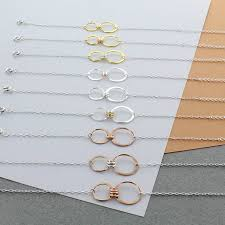 design your own infinity family link bracelet by