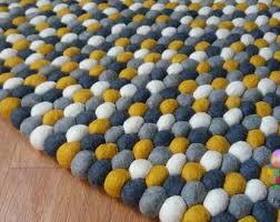 Nepal Felt Ball Rug Felt Ball Rug Nursery Pom Pom Carpet Pebble Rug Free