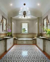 magnificent bathroom chandelier with shiny crystal chandeliers in