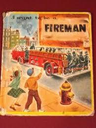book firemen 1951 firemen books book play