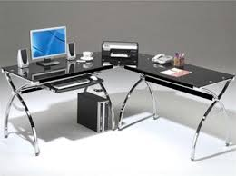 Glass And Chrome Desk Glass Office And Computer Desks From Computerdesk Com U2013 Page 3