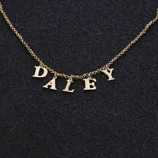 customized name necklace online shop duoying initial name necklace personlized customized