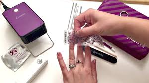 how to apply nail wraps over colourcure youtube