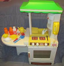 Little Tikes Wooden Kitchen by Vintage 1980 U0027s Kids Little Tikes Party Kitchen With Make Believe