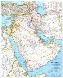 mid east map national geographic middle east map 1991 maps