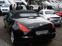 Nissan 350z All Black - file nissan 350z roadster black heck jpg wikimedia commons