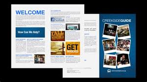 20 church brochure templates catering company take out brochure