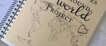 around the world project free printables rustic reclaimed