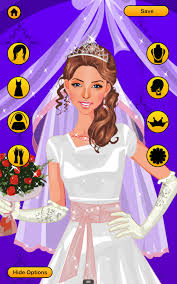 wedding dress up games free bridal look makeover android apps