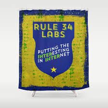Science Shower Curtains Society6 Rule 34 Labs Putting The Interesting In Internet Deirdre