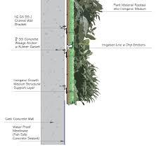 miami vertical garden living walls green wall pinterest
