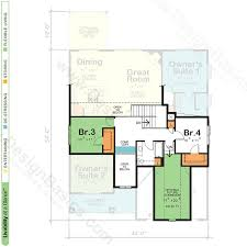 Home Design For 4 Cent by House Plans With Two Owner Suites Design Basics