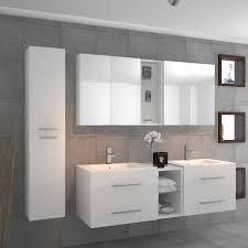 Vanity Bathroom Suite by Sonix Double Vanity Bathroom Suite White Buy Online At Bathroom City