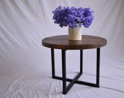 Rustic Round Coffee Table Rustic Round Coffee Table Etsy