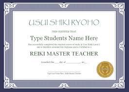 microsoft office certificate templates free reiki certificate templates done for you reiki training store reiki certificate template set 6