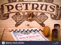 learn about petrus pomerol bordeaux still with wine crate and label of chateau petrus pomerol