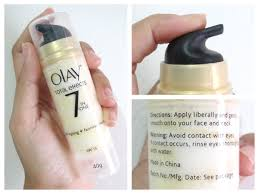 Krim Olay Total Effect diary of an eyeliner junkie new improved olay total effect anti