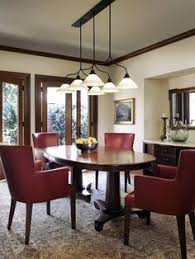 Dark Red Dining Room by Dark Wood Trim Yellow Walls Dark Hardwood Trim Pinterest