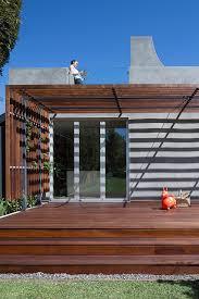 modern pergola deck contemporary with hancock park folding doors