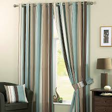 Curtains For Brown Living Room Window Curtain Awesome Brown And Blue Curtains For Windows Brown