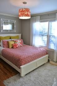 Coral Bedrooms Coral And Yellow Bedroom The Suburban Urbanist