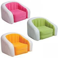 Inflatable Chesterfield Sofa by Intex Kids Children Colorful Inflatable Chair Seat Lounge Sofa 3