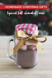hot chocolate gift christmas spiced hot chocolate mix swah
