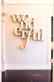 impressive shop wood word wall on wanelo intended for wood